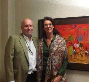Con Roberto Pereira de EUSKARRI