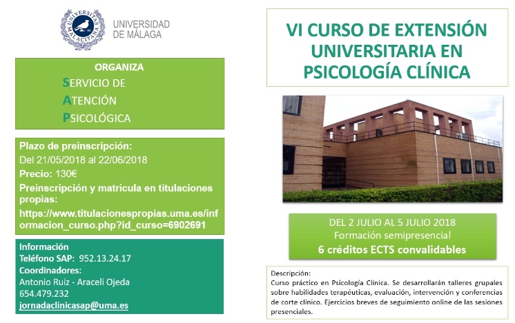 Curso Extensión Universitaria